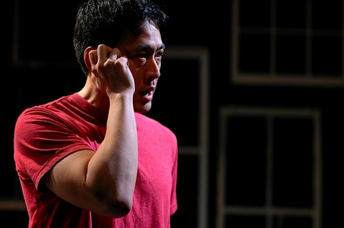 9.  Paul Juhn as Orville in The Trajectory of a Heart, Fractured.