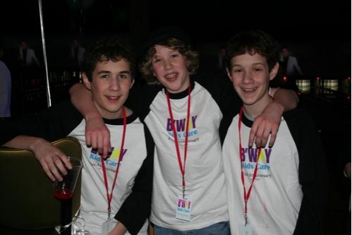 Jacob Pincus (Grinch), Eamon Foley (Grinch) and Simon Pincus (Grinch)