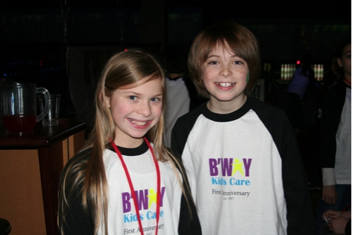 Gabby Malek (Chitty Chitty Bang Bang) and Dylan Riley Snyder (Tarzan)