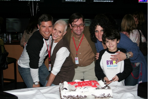 Eric Rutherford, Kelly Gonda, Will Willoughby, Marie Rand and Zach Rand Photo