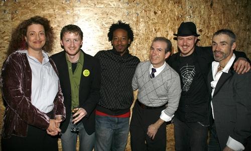 Channez McQuay, Kurt Boehm, LC Harden Jr., Steven Cupo, and Ensemble