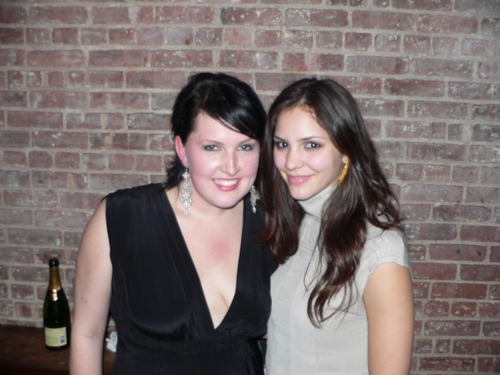 Natalie Joy Johnson and Katherine McPhee