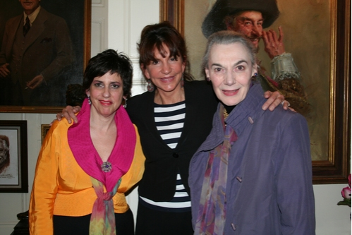 Susan Charlotte (Artistic Director), Mercedes Ruehl and Marian Seldes