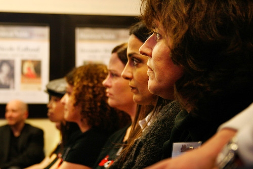 Dana Dawson, Karen Schleifer, Beki Snyder, Jessica Smith, and Heather Sislen