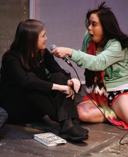 Amy Goodman and Brooke Ishibashi
