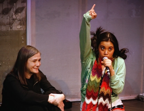 Amy Goodman and Brooke Ishibashi