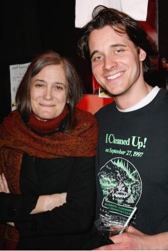 Amy Goodman and Heath Calvert