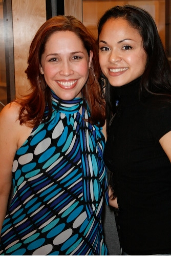 Andrea Burns and Karen Olivo Photo
