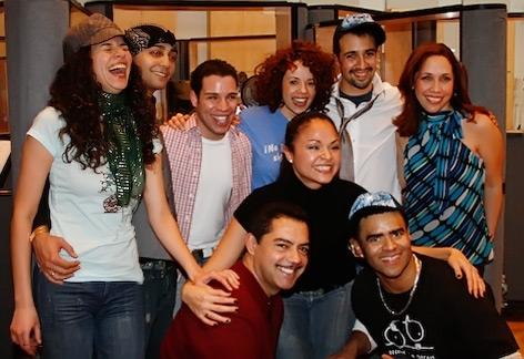 Mandy Gonzalez, Seth Stewart, Robin de Jesus, Janet Dacal Carlos Gomez, Karen Olivo,  Photo