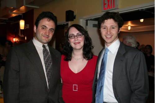 Artistic Director Eric Parness, Managing Director Rachel Reiner and  Photo