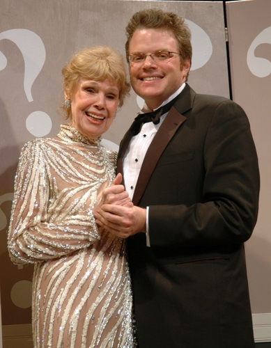 Betsy Palmer and J. Keith van Straaten