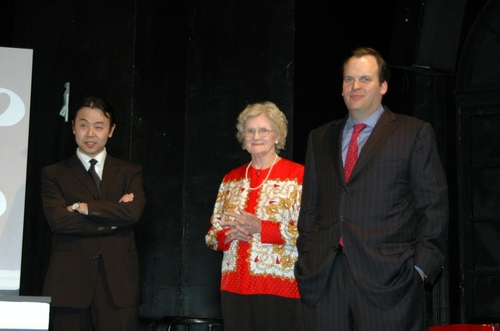 Liang Wong, Patricia Porterfied and Alan Rosen