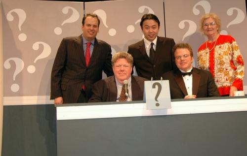 George Wendt, J. Keith van Straaten, Alan Rosen, Liang Wong and Patricia Porterfied