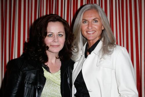 Geraldine Hughes and Olivia Tracey