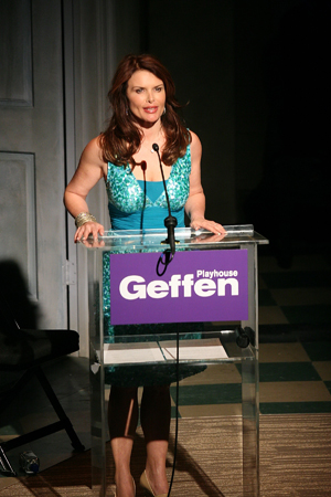 Roma Downey at  Backstage at the Geffen '08