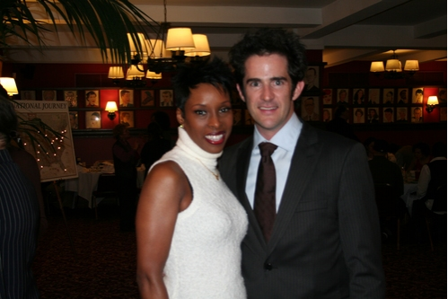 Brenda Braxton (Chicago) and Andy Blankenbuehler (Choreographer)