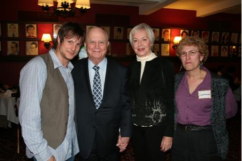 John Seyla, Gerald Schoenfeld, Judith Anderson and Lauren Gordan ( CTFD Counselor)