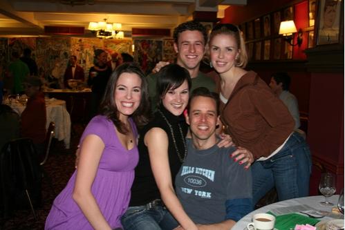 Katherine Tokarz, Jennifer Dunne, Christopher Spaulding, Noah Racey and Jen Frankel