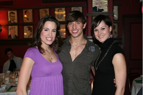 Jatherine Tokarz, Nick Adams and Jennifer Dunne