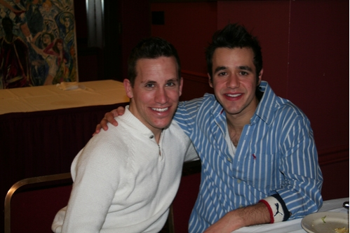 Robbie Roby (Hairspray) and Noah Rivera (Wicked)