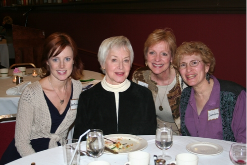 Dana Harrison (CTFD), Judith Anderson, Mary Lou Westerfield and Lauren Gordan at CTFD Between Show Get Together