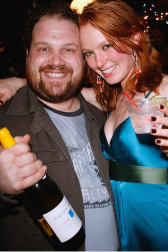 Jordan Gelber (Two Thousand Years) and Alicia Witt  Photo