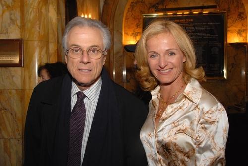 Jeffrey Lyons and Ann Ligouri