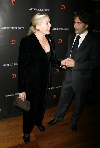 Lauren Bacall and Michael Imperioli at  First Readings: A Benefit for Studio Dante