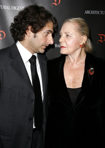 Michael Imperioli and Lauren Bacall at  First Readings: A Benefit for Studio Dante