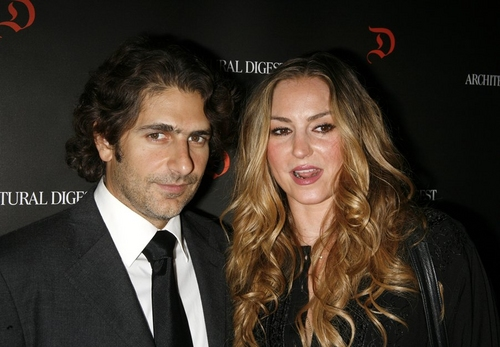 Michael Imperioli and Drea de Matteo