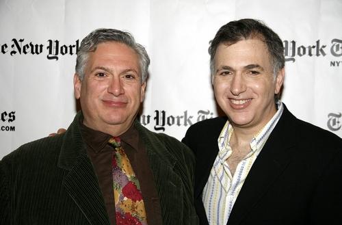 Harvey Fierstein and Jesse Green