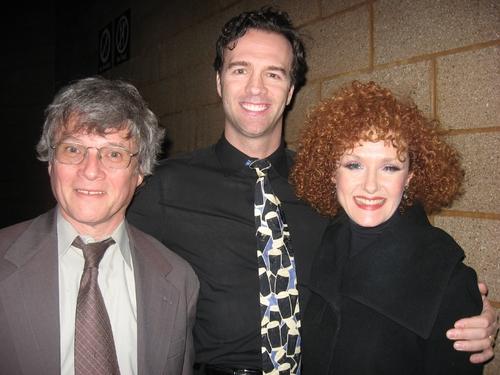Ken Jennings, Ciaran Sheehan and Martina Vidmar