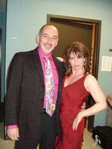 Peter Marinos and Julie Waldman-Stiel