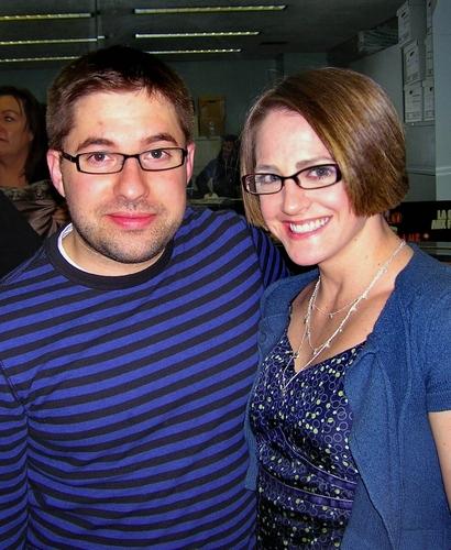 Omri Schein and his girlfriend Elizabeth