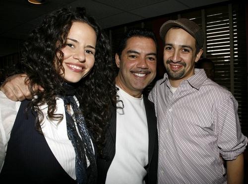 Mandy Gonzalez, Carlos Gomez and Lin-Manuel Miranda