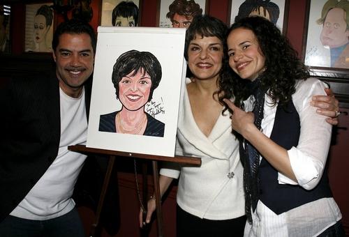 Carlos Gomez, Priscilla Lopez and Mandy Gonzalez