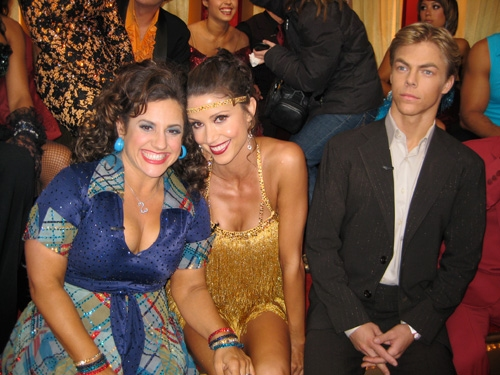 Marissa Jaret Winokur, Shannon Elizabeth and Derek Hough at Special Photo Blog Exclusive #18: Marissa Jaret Winokur 'Dancing With The Stars' - YOU SAVED ME!!!