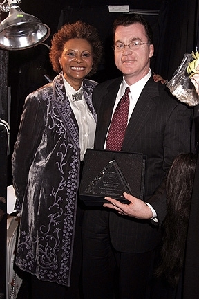 Leslie Uggams and Brian Dougher Photo