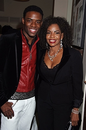 Antyon Le Monte Smith and Melba Moore
