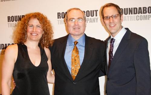 Julia Levy, Todd Haimes, and Harold Wolpert  Photo