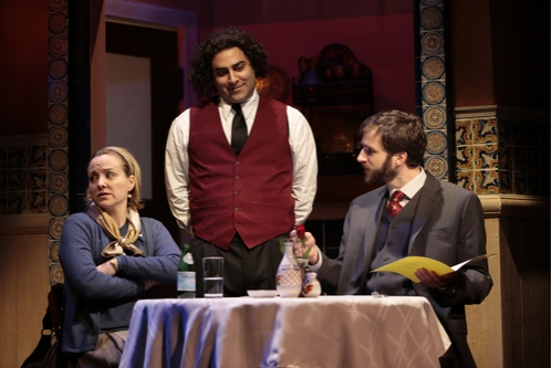 Geneva Carr, Jason Antoon and James Waterston