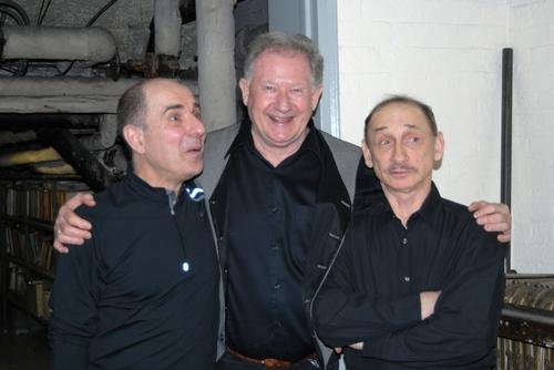 Don Percassi, Harvey Evans, Bert Michaels