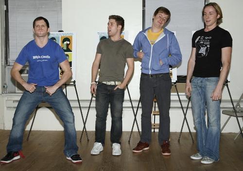 Andrew C. Hall, Jesse JP Johnson, Steven Booth and Adam Halpin