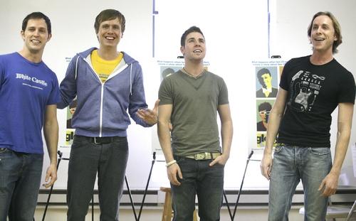 Andrew C. Hall, Steven Booth, Jesse JP Johnson and Adam Halpin