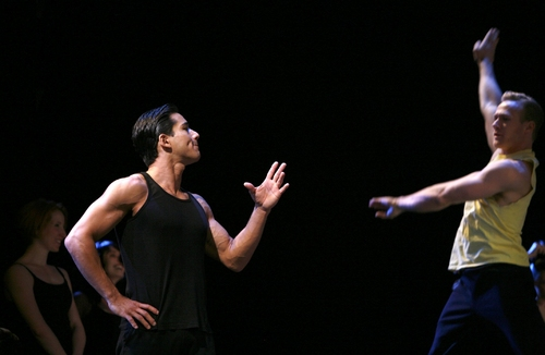 Mario Lopez and Jason Patrick Sands