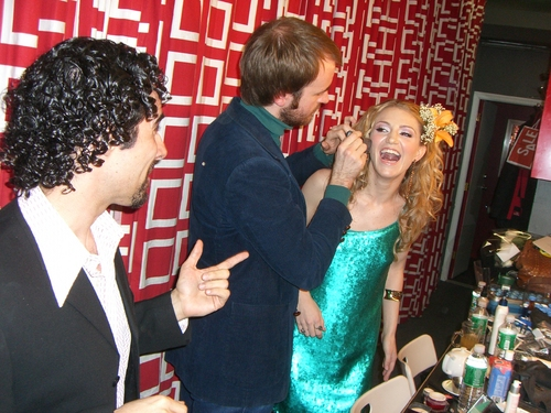 Alex Lacamoire, Annaleigh Ashford and Craig Jessup