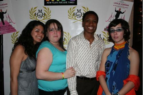 Harvey Milk High School Students Rachel Sanchez, Judith Torres, Photo