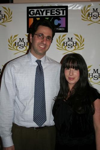 The Harvey Milk High School Assistant Principal Mark Jabir and the Harvey Milk High S Photo