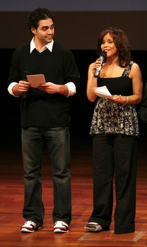 Ramon Rodriguez and Rosie Perez