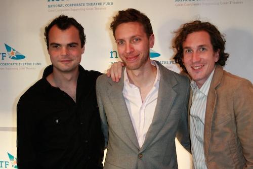 Stephen Plunkett, Michael Friedman, Ian Brennan (performers) Photo